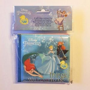 DISNEY PRINCESS BUBBLE BATH BOOK